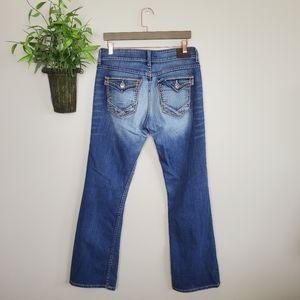 BKE Culture Flap Pocket Bootcut Stretch Jeans 31